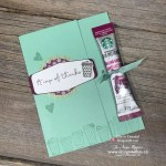 See How to Make a Coffee Treat Thank You Card to Give as a Gift