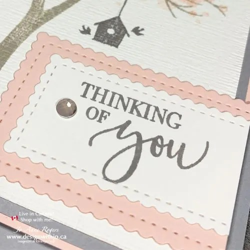 My Favourite Nature Themed Stamp Set This Fall Life is Beautiful from Stampin Up!
