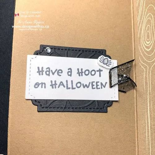 Want a Cute Halloween Card Idea with a Quick and Easy Fun Fold?