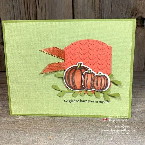 Celebrate World Card Making Day with a Fall Card