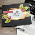 Top 5 Supplies To Watercolour Rubber Stamped Cards