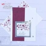 Make A Simple Handmade Card to Say Hello
