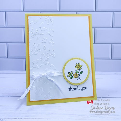 SNEAK PEEK: Sweet and Simple Thank You Card with Lots of Heart Stamps from Stampin' Up!