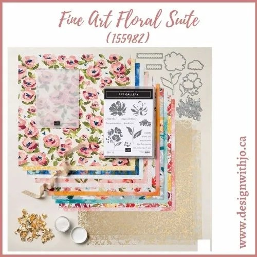 Card Making with Gilded Leafing and Fine Art Floral