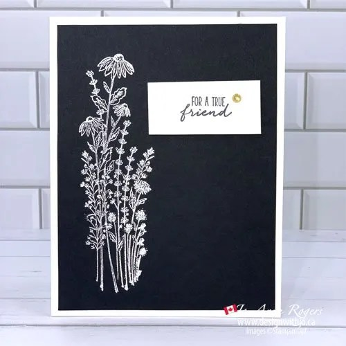VIDEO 5 Minute Card Making with Heat Embossing
