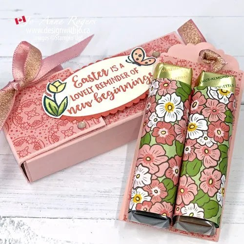 Learn Exactly How to Make this Handmade Treat Box for Spring