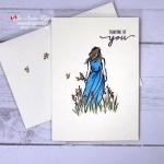 Quick Card Making With Watercolour Pencils