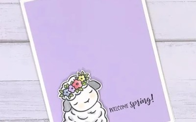 Simple Rubber Stamped Spring Cards