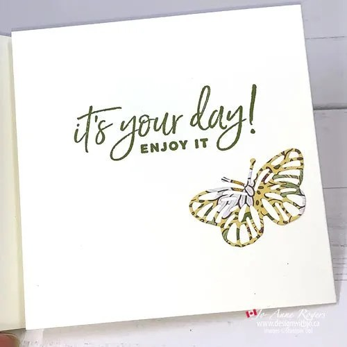 How to Use Patterned Paper for Die Cuts and Butterfly Brilliance Dies