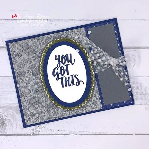 VIDEO How to Use Patterned Paper for an Easy Fun Fold Card