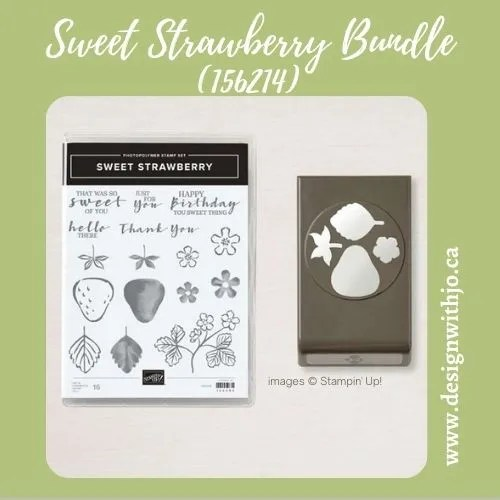 Versatile Sweet Strawberry Card Making