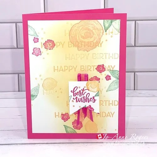CASE the Cattie VIDEO Hinge Stamping a Handmade Card