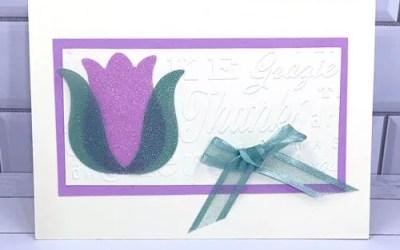 Simple Embossed Card