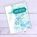 Use a Background Stamp to Make a Card to WOW!