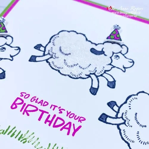 Colour Handmade Card with Stampin Write Markers