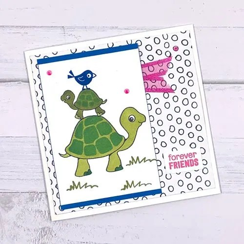 Handmade Cards with Turtle Friends Stamps from Stampin' Up!