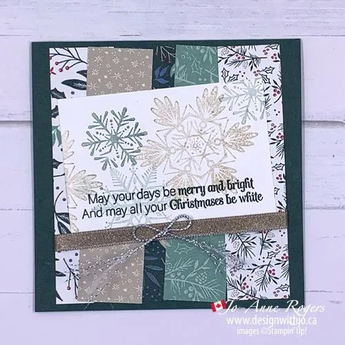 VIDEO for How to Stamp Off for Card Making