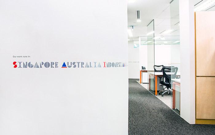 灰色新加坡:多國字體/在設計工作壽命