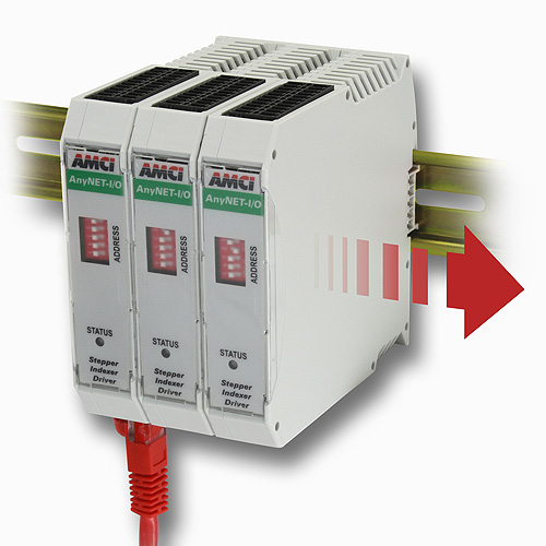 Integrated Stepper Indexer/Drive with Ethernet Interface