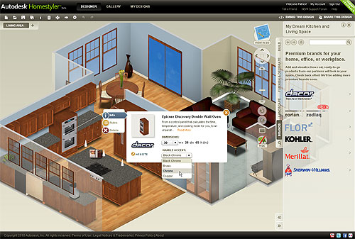 Autodesk Launches EasytoUse Free 2D and 3D Online Home