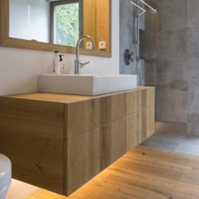 Madie moderne, credenze in legno moderne. Sconto Per Il Mobile Bagno Valerie In Legno Stile Moderno