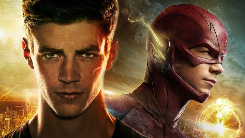 Grant Gustin as The Flash Superhero