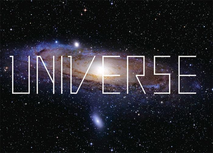universe fonts