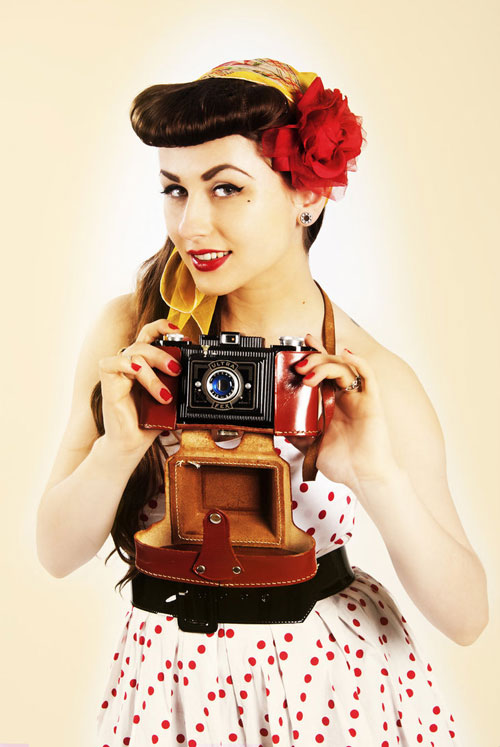 Pin-Up photography: How to shoot pin-up photos and examples
