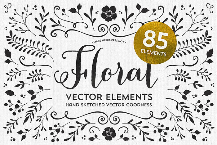 Floral Vector Graphics You Can Download Today To Design With Them
