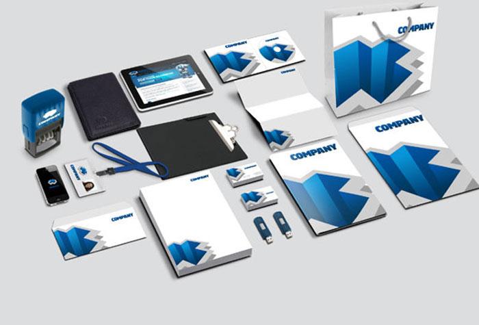 PSD Corporate Identity Mockup Part 2