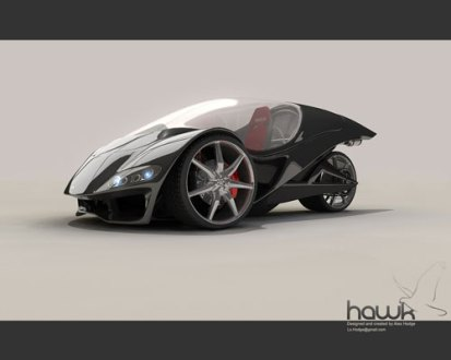 The Best New Concept Car Designs For The Future   96 Vehicles Hawk  revisited by L X The Best New Concept Car Designs For The Future   96  Vehicles