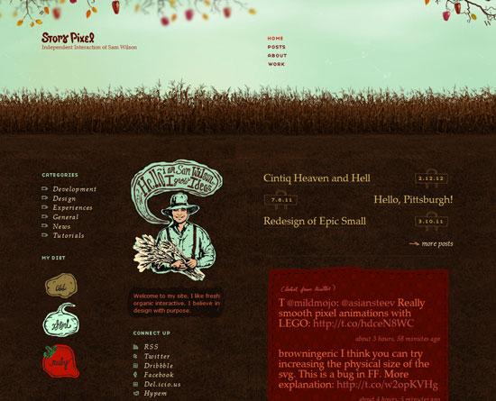 storypixel.com Site design