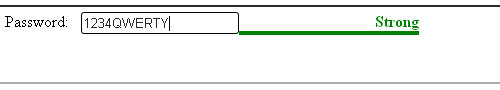 Password Validation jquery form plugin