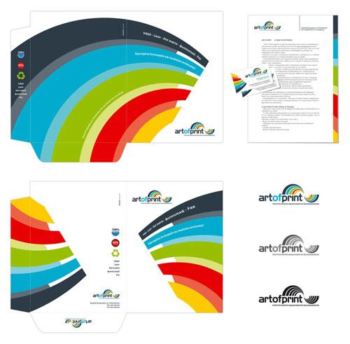ArtOfPrint - Letterhead And Logo Design Inspiration