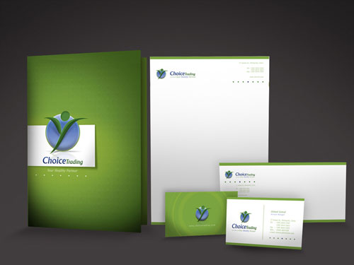 Choice Stationary 01 - Letterhead And Logo Design Inspiration