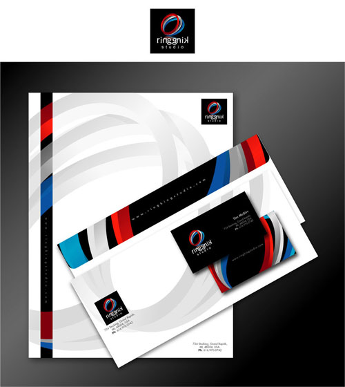 Ring King Studio - Letterhead And Logo Design Inspiration