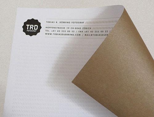 Tobias R. Duerring Identity - Letterhead And Logo Design Inspiration