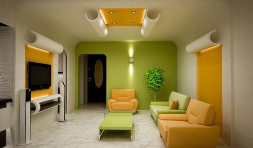 Interior Decoration Living Hall