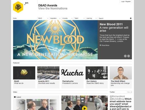dandad.org - Minimalist site