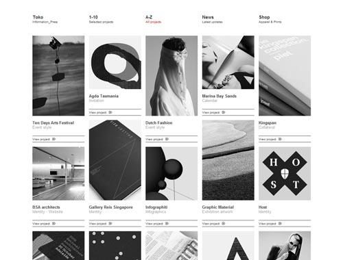 toko.nu - Minimalist site