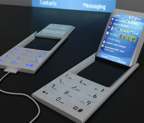 Concept Phone with Projector