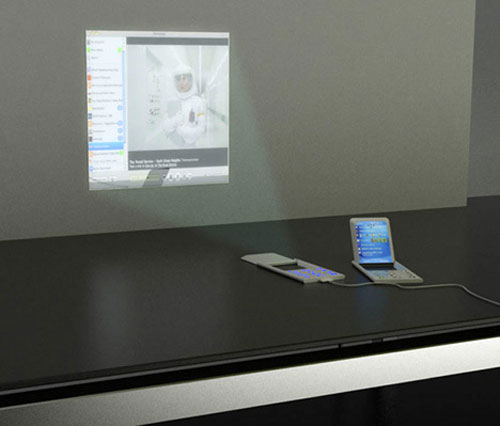 Concept Phone with Projector 2