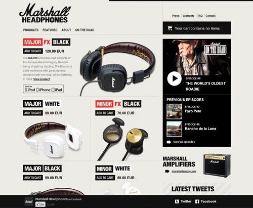 marshallheadphones.com