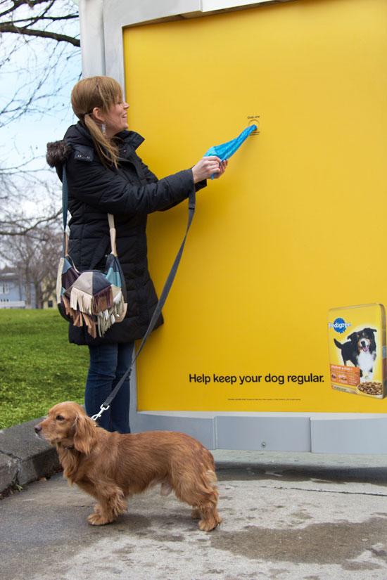 Help keep your dog regular Outdoor Advertising