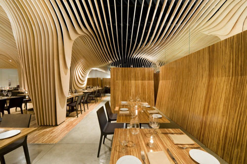 BanQ in Boston, MA, USA 2 - Restaurants And Coffee Shops With Beautiful Interior Design