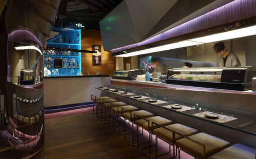 Haiku Sushi in Shanghai, China 3 - Restaurants And Coffee Shops With Beautiful Interior Design
