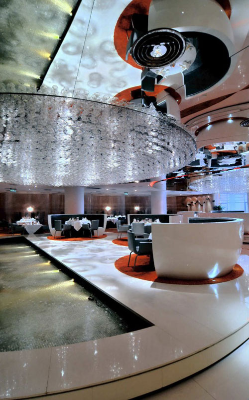Jardin de Jade Restaurant in Shanghai, China - Restaurants And Coffee Shops With Beautiful Interior Design
