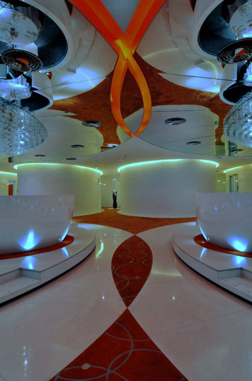Jardin de Jade Restaurant in Shanghai, China 2 - Restaurants And Coffee Shops With Beautiful Interior Design