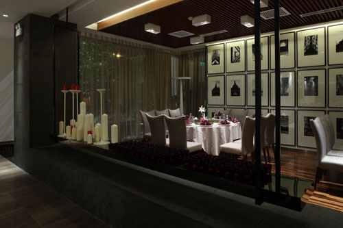 Yuwan Restaurant in Shenyang, China 4 - Restaurants And Coffee Shops With Beautiful Interior Design