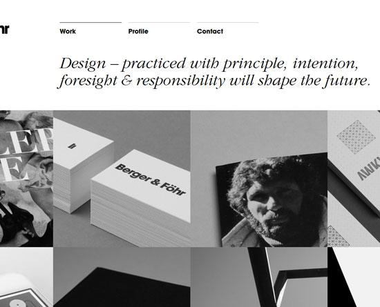 bergerfohr.com Site Design